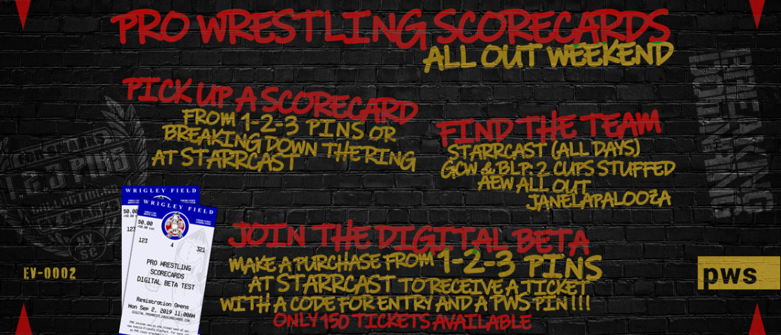 PWS All Out Weekend Schedule