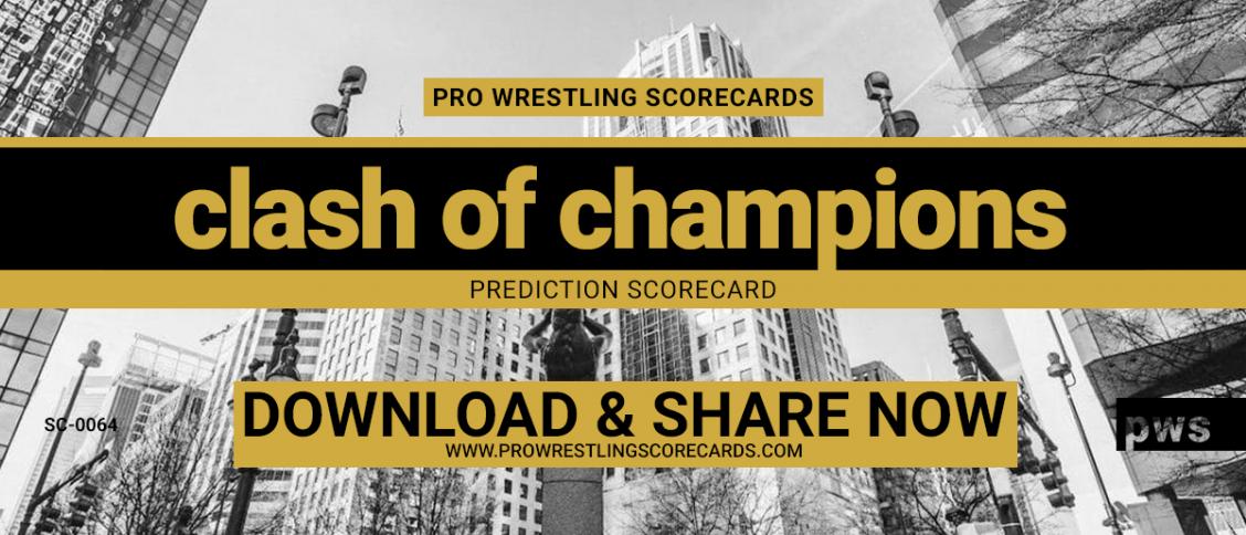 Clash of Champions prediction scorecard