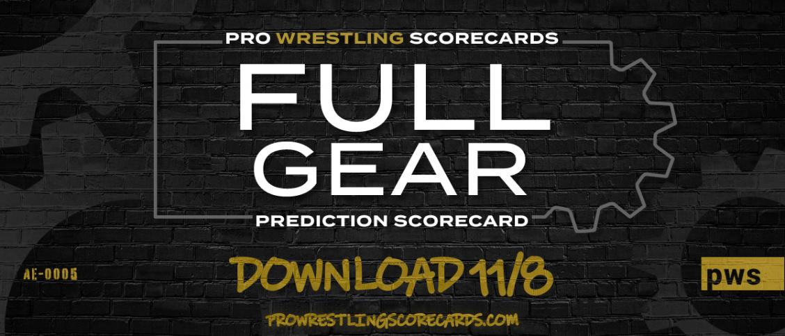 Full Gear scorecard Nov 8