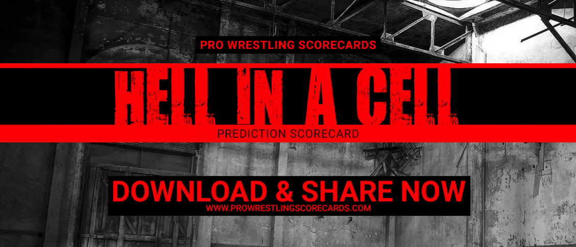 Hell in a Cell prediction scorecard