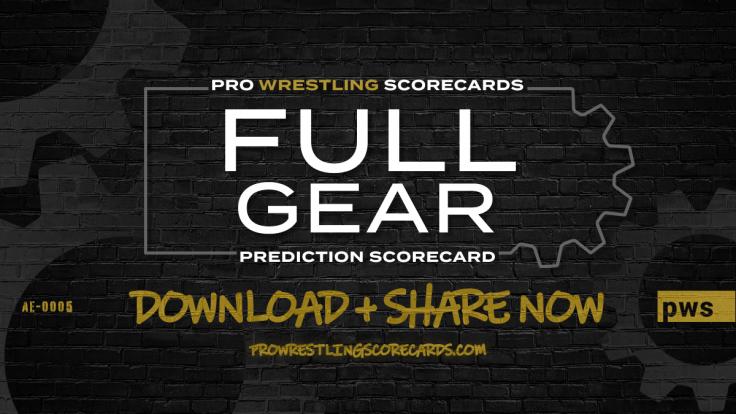 Full Gear Prediction Scorecard