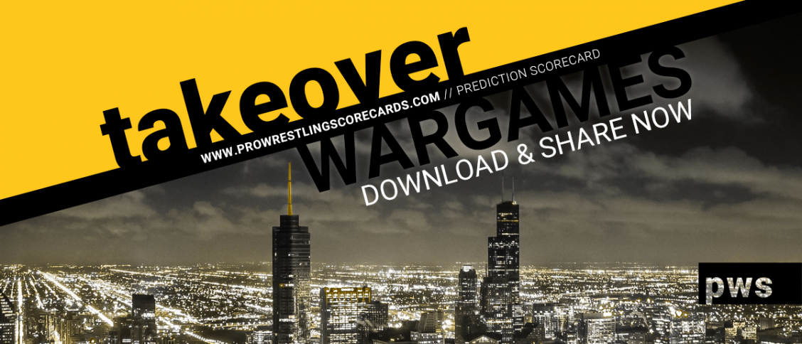 TakeOver WarGames Scorecard Download