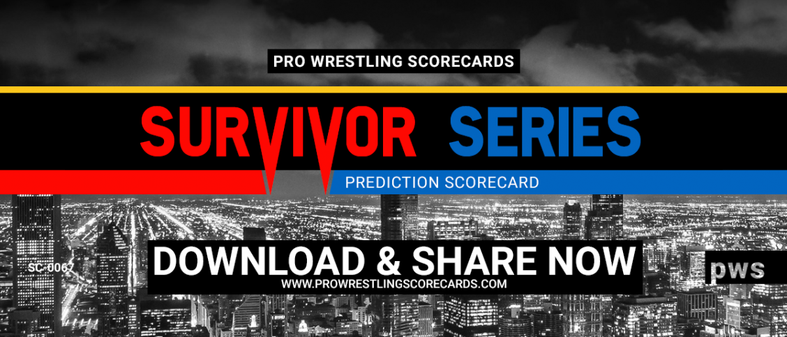 Survivor Series Prediction Scorecard