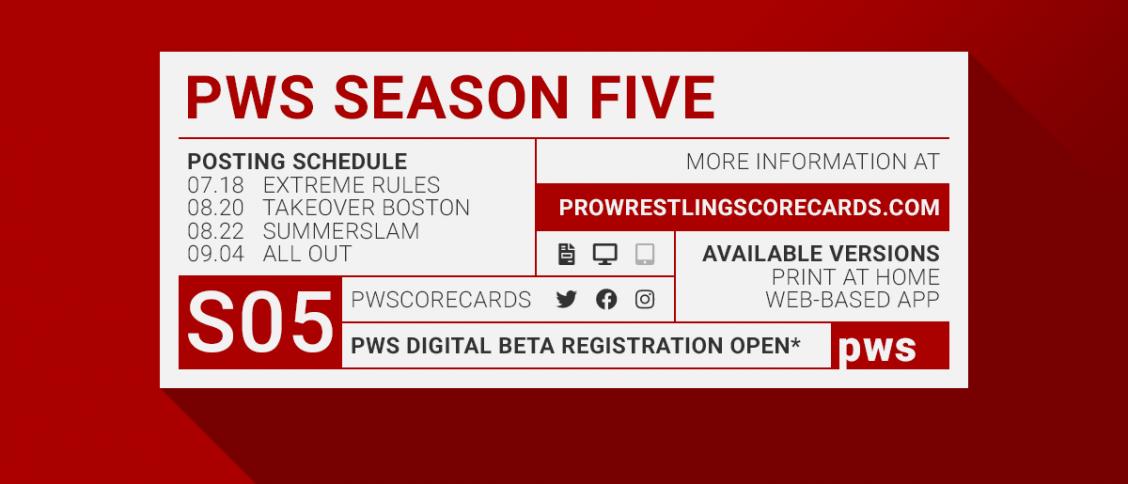 PWS Season 5 June Update