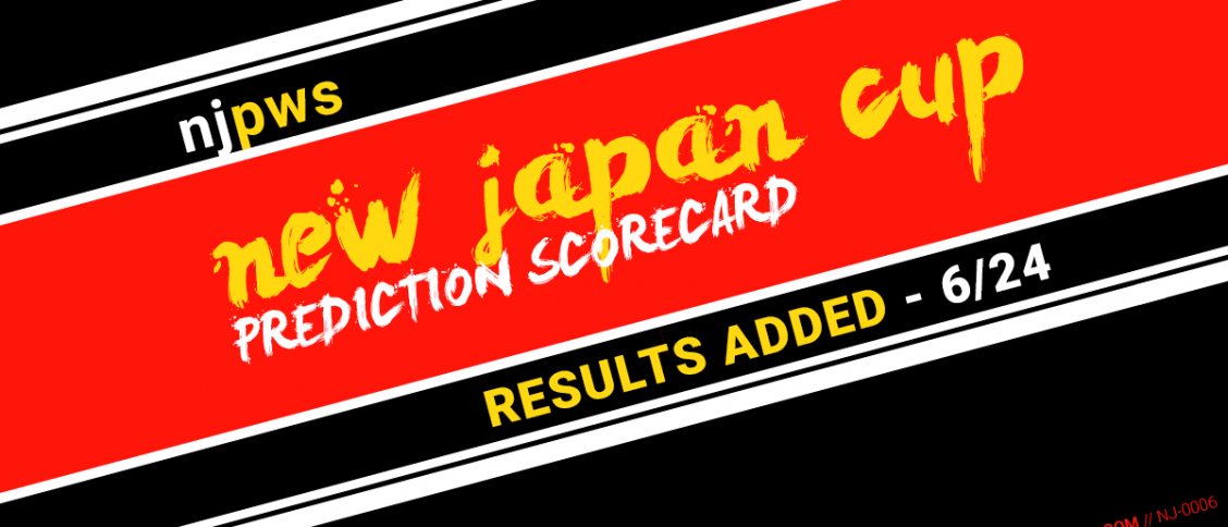 NJPW New Japan Cup Results 062420