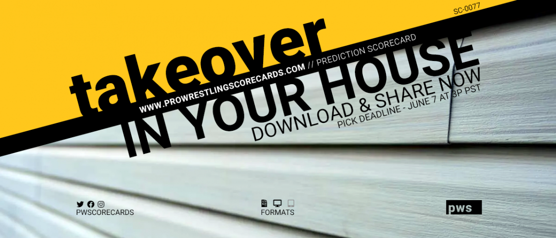 PWS Download In Your House Scorecard